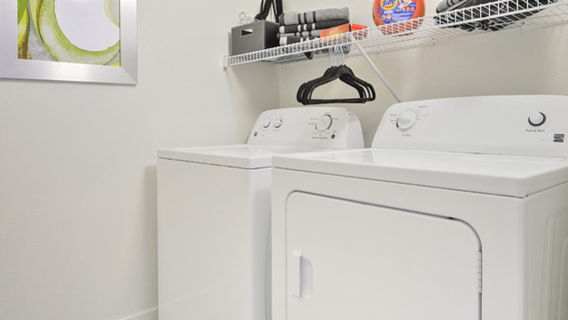 Evolve Apartments - Apartment's Personal Washer and Dryer