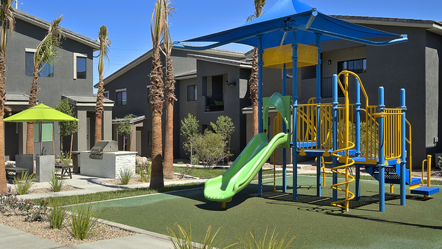 Evolve Apartments - Playground and Apartments